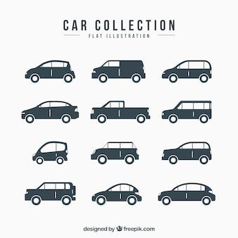 デザインの様々な装飾的な車