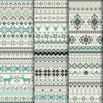 Decorative winter patterns