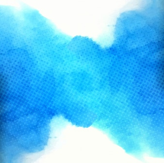 Deep blue watercolor background