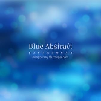 Defocused bokeh blue background