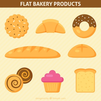Delicious bakery products