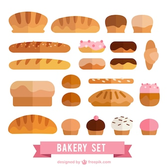 Delicious bakery set