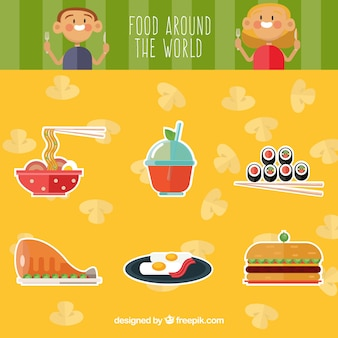 Delicious food around the world