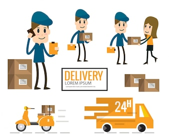 Delivery characters collection