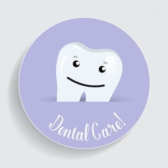 Dental care background design