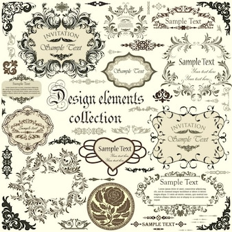 Design frames collection