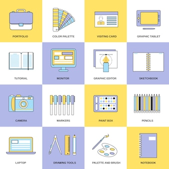 Design icons collectio