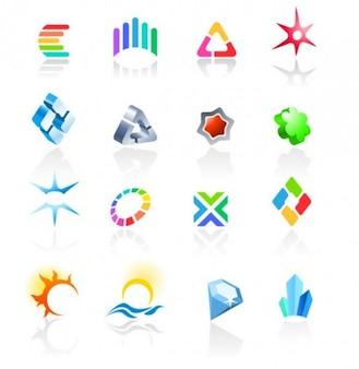 Design logotypes vector set