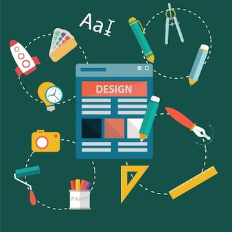 Design tools background design