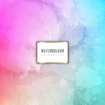 Detailed watercolour background
