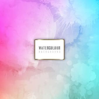 詳細な水彩の背景