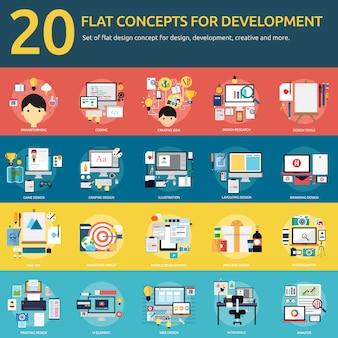 Development designs collection