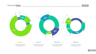 Diagrams with percent data slide template