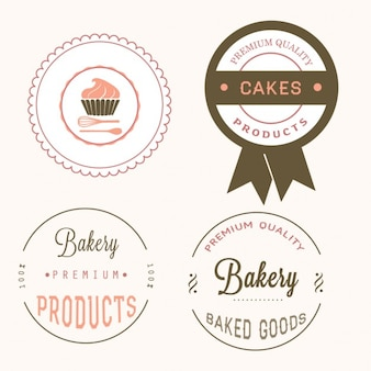 Different bakery labels