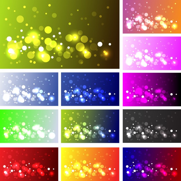 Different bokeh effects design