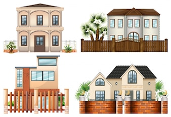 Different sytle of houses