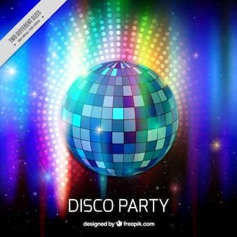 Disco ball lights bachground
