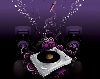 Disco illustration vector