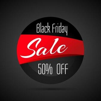 discount black friday sale label