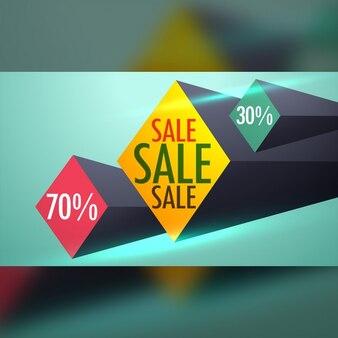 Discount coupon with diamonds