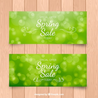 Discount discount spring banners