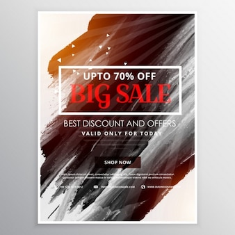 Discount for big sales