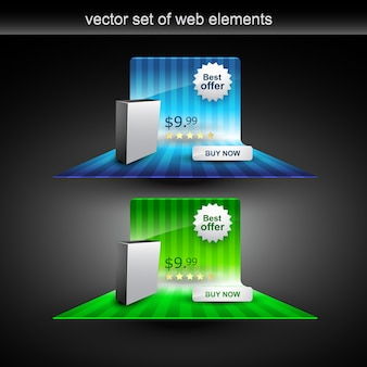 Discount offer web elements