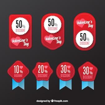 Discount valentine labels