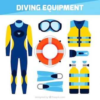 Diving accessory collection