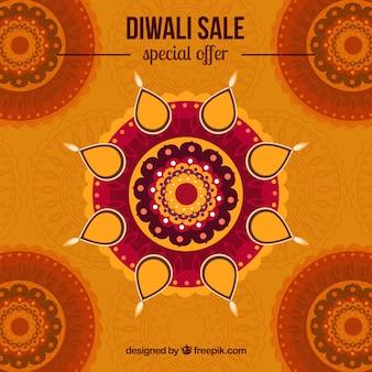 Diwali sale background design