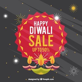 Diwali sales background