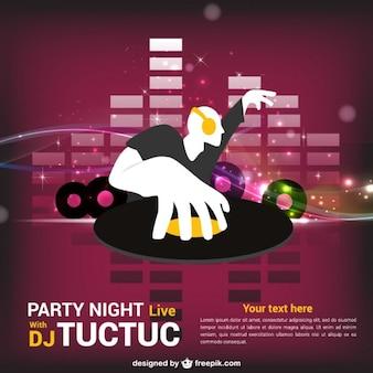 DJ vector illustration