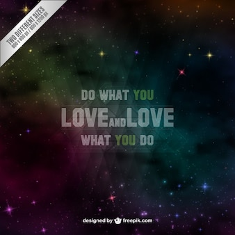Do what you love background
