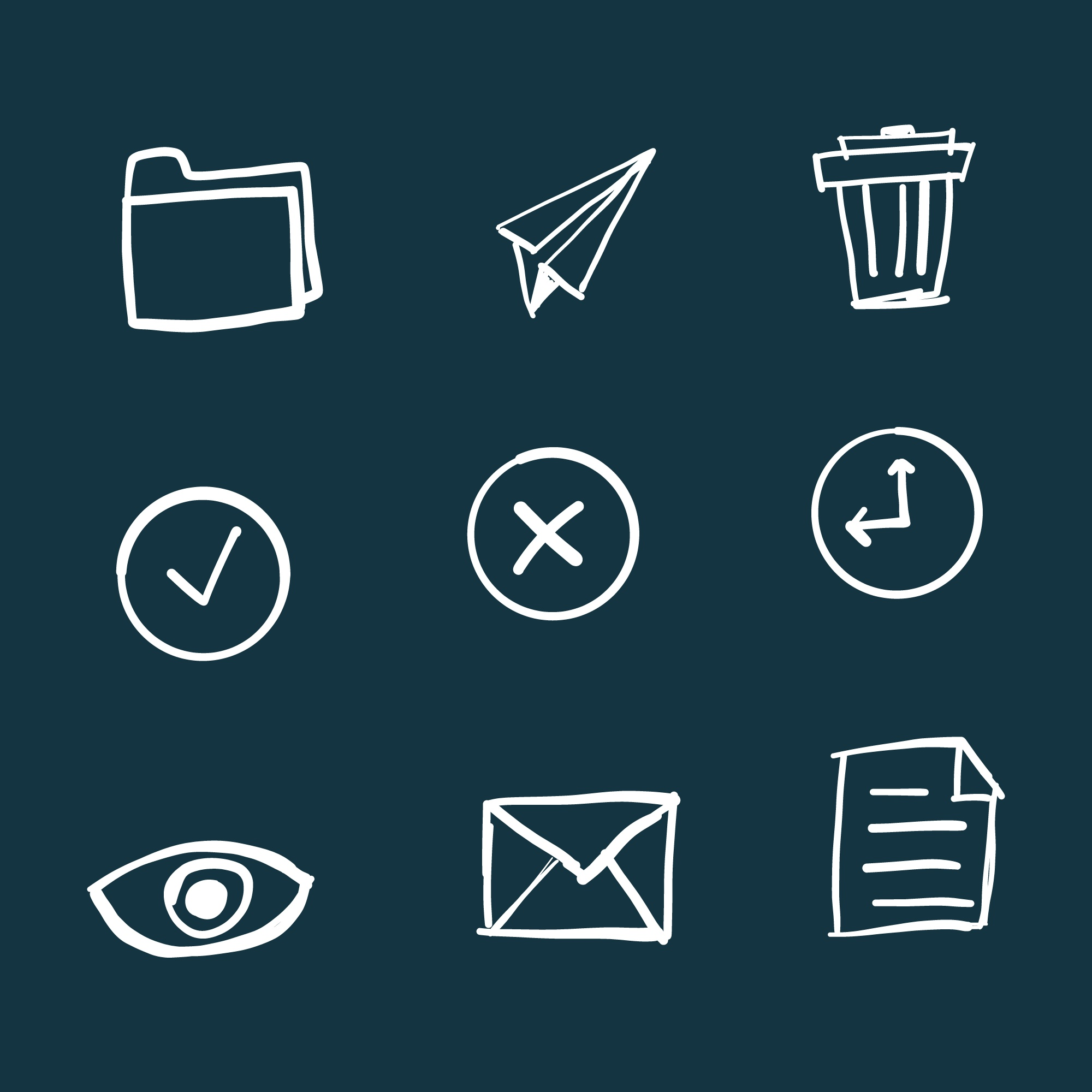 Doddle office icons