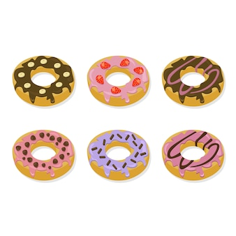 Donut designs collection