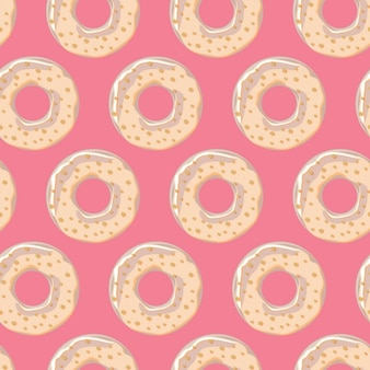 Donuts pattern design