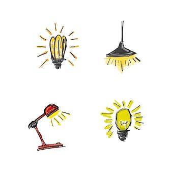 Doodle lamp