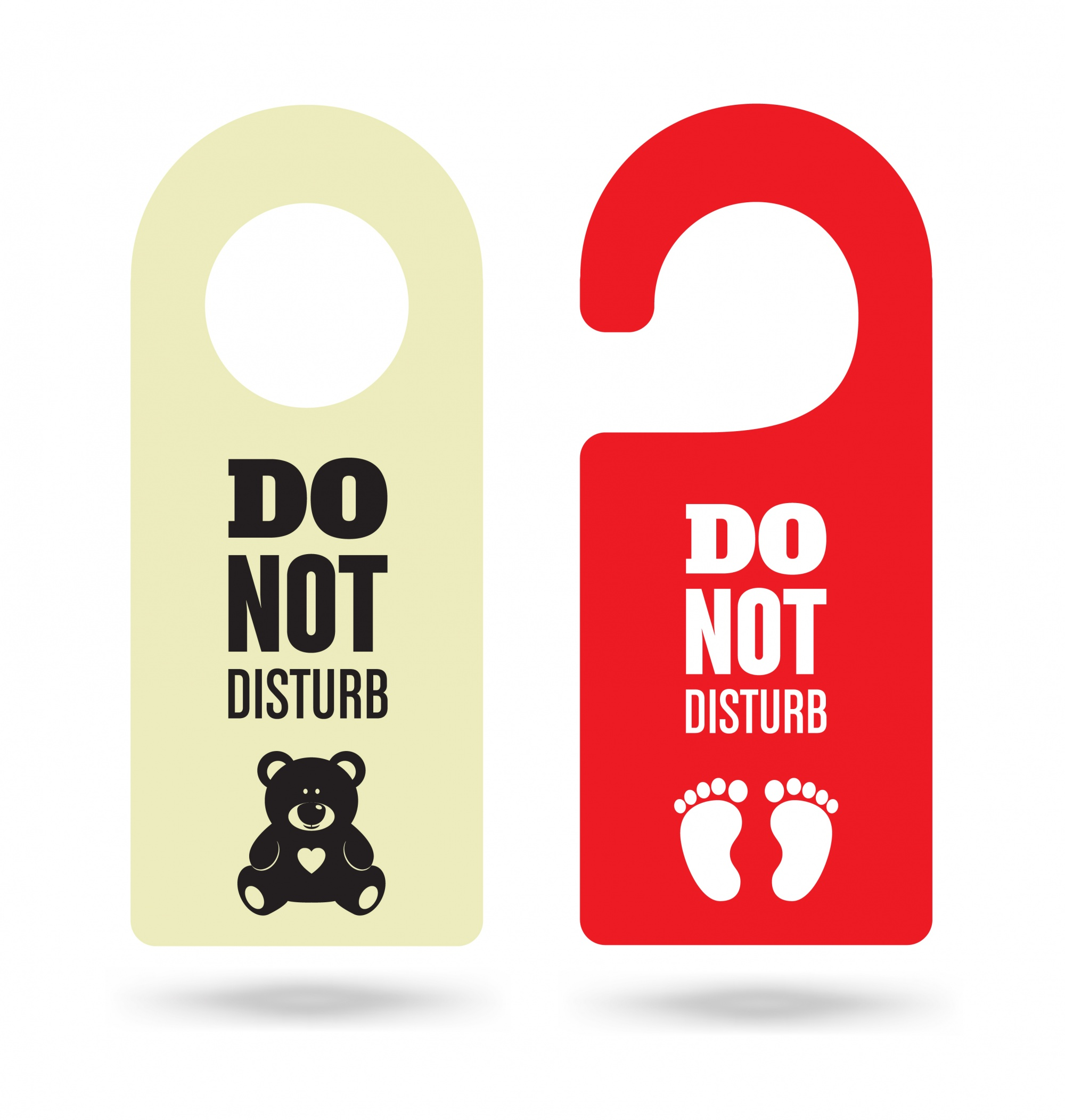 Door hanger set