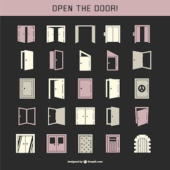 ドアのアイコンパック