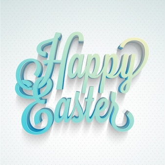 Dotted background of happy easter