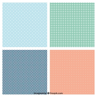 Dotted patterns collection