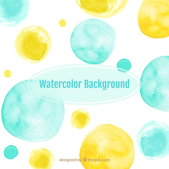 Dotted watercolor background