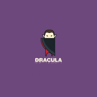Dracula logo on a purple background