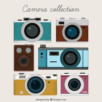Drawn Camera Collection