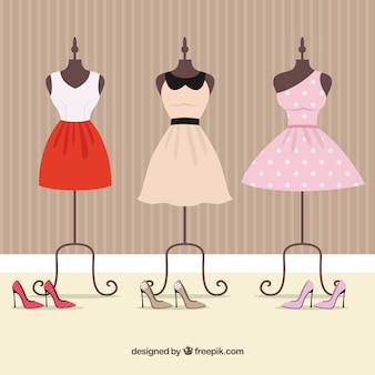 Different Dress Silhouettes High Fashion