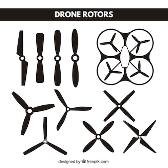 Drone blade collection