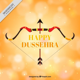 Dussehra background with arrow and bow