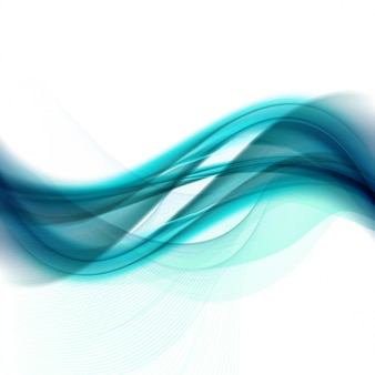 Dynamic blue wavy background design