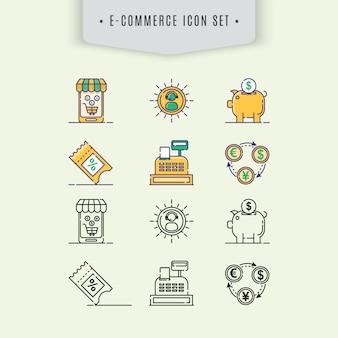 E-commer icon collectio
