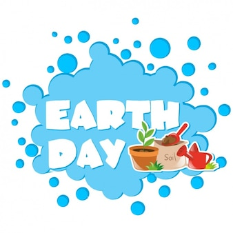 Earth day background design